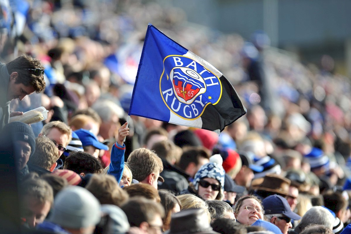 Bath Rugby Flag