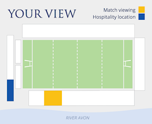 Riverview Suite and Match viewing locations