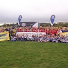 Ben Skirving supports the next generation at the Aviva Rugby Festival