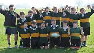 Hardenhuish Year 7 boys - Unbeaten all season
