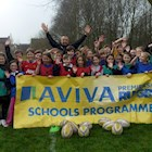 Bath Rugby take Aviva Tag to St Cuthberts in Wells