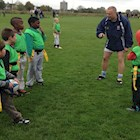 Bath Rugby and Swindon RFC hold training session for stars of the future