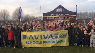 Stars of tomorrow shine at Calne RFC Aviva Tag Festival