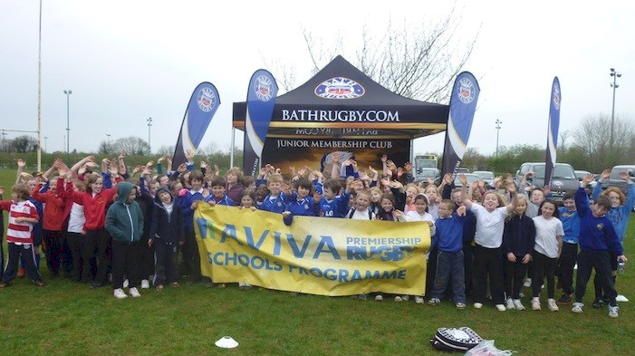 Stars of tomorrow shine at Corsham RFC Aviva tag festival