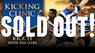 Bath Rugby Kicking Clinic - SOLD OUT