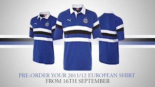 Pre-order your new European Shirt today!