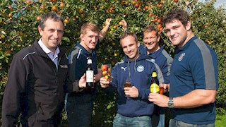 Bath Rugby visits Thatchers Cider