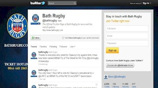Bath Rugby up for a Shorty Award