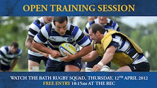 Easter Holiday Open Training Session at the Rec