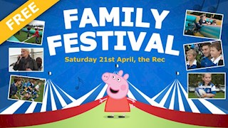 Free Family Festival at the Rec this Saturday!