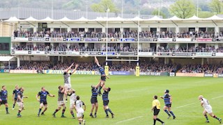 Hospitality sales kick off with Bath Rugby