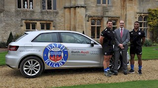 Bath Audi hopes to support Bath Rugby on the road to success