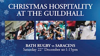 Last Chance for a Bath Rugby Christmas!
