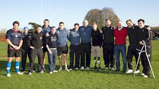 Tedworth House heroes spend day with Bath Rugby