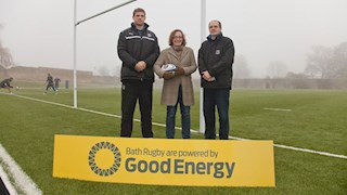 Bath Rugby and Good Energy Powering a Better Future