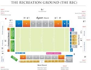 The Rec - Seating Plan