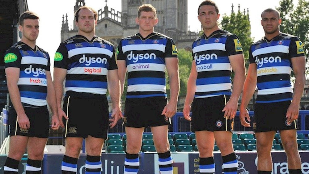 Bath Rugby And Canterbury Unveil New