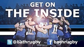 @bathrugby - Get on the inside!