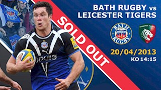 Leicester Tigers match now SOLD OUT