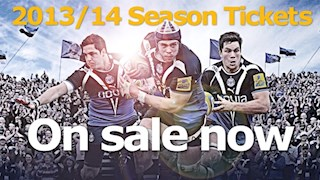 2013/14 Season Tickets on sale now!