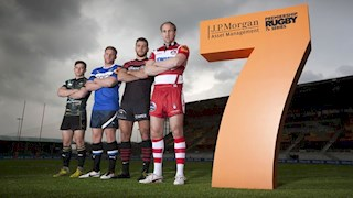 Classic derby kicks off J.P. Morgan Premiership Rugby 7s Series
