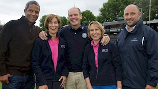 England and Bath Rugby Legends Launch Bath Men's Walk 2014