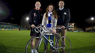 Grewcock, Fell and Tindall lend support to launch of Cycle to Gloucester