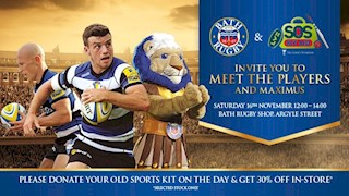 Exclusive Bath Rugby & Kit Aid Event