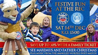 30% off family tickets for Mogliano this Saturday