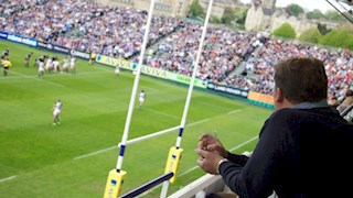 Watch Bath Rugby take on Mogliano from a corporate box!