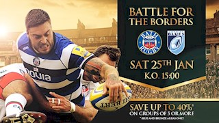 Save 40% on group tickets for LV=Cup Anglo-Welsh battle