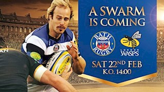 Last chance to buy - Bath Rugby vs London Wasps