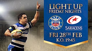 Last chance to buy - Bath Rugby vs Saracens