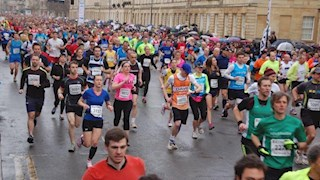 Your chance to run the Bath Half on behalf of the Foundation