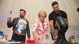 Mary Berry mentors Mears and Banahan to baking triumph