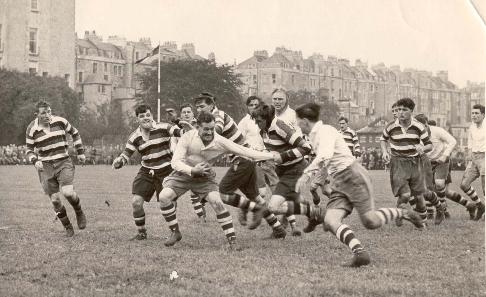 The 1st Bath - Bristol derby.