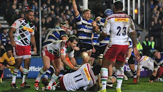 Bath Rugby v Harlequins: A Look Back