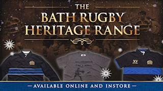 Late night shopping with Bath Rugby tomorrow