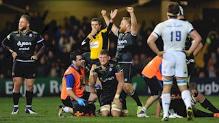 Bath Rugby outmanoeuvre Leinster at record Rec