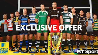Exclusive Premiership Rugby offer - save up to £52!