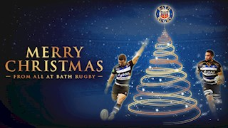 Merry Christmas from Bath Rugby