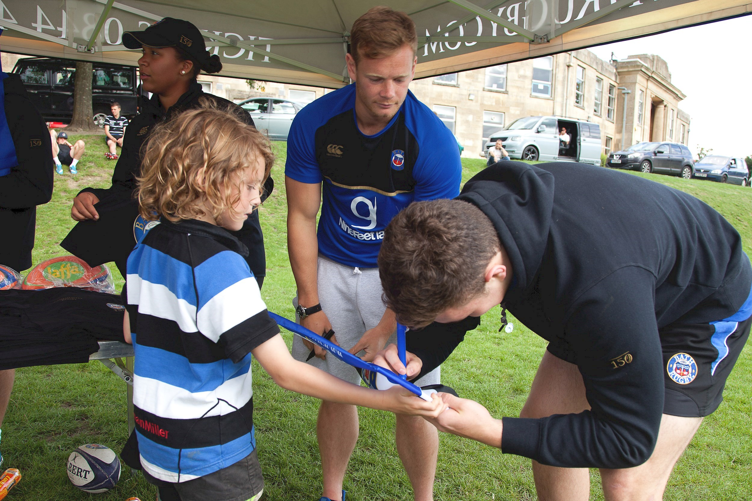Bath Rugby Community camps are back!