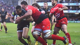 Toulon toil to victory at the Rec