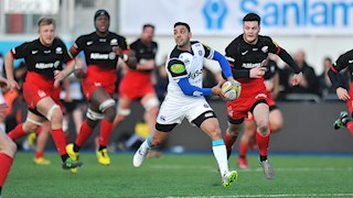 Bath Rugby lose game of two halves to Saracens