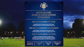 Bath Rugby Coach Education Evenings