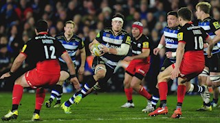 Bath Rugby lose in fiery encounter with Saracens