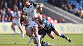 Sale Sharks survive Bath Rugby comeback