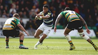 Bath Rugby edged out at Franklin's Gardens