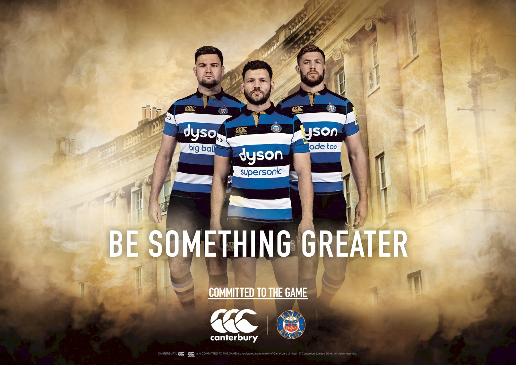 Be Something Greater: Bath Rugby Kit Launch 2016/17