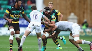 Bath Rugby power to memorable win at Franklin's Gardens
